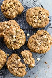 apple oatmeal cookies with white chocolate chips jessica gavin