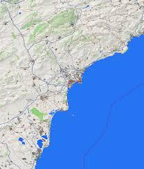 Benidorm Spain Map by City Maps Alicante