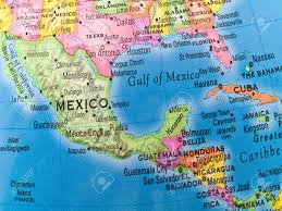Map Of Mexico And Texas by A Macro Closeup Of A Political Globe Focusing On Mexico And