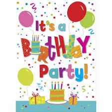 Children Birthday Invitation Card Child Birthday Party Invitations Cimvitation