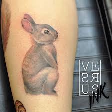 cute rabbit tattoo best tattoo design ideas