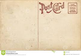 fashioned postcard stock image image 20412491