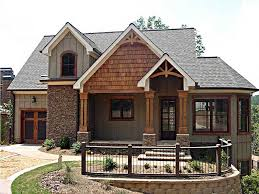 One Story Lake House Plans One Story Mountain House Plans