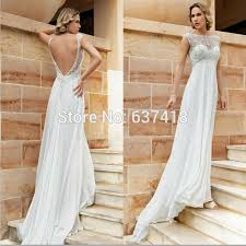 Wedding Dresses Maternity Aliexpress Com Buy Simple Chiffon Wedding Dress Beach Wedding