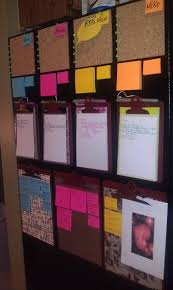 message center for the family cork board for fyi note pads for
