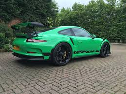 porsche 911 price 2016 rs green porsche 911 gt3 rs for sale at 321 000 in the uk