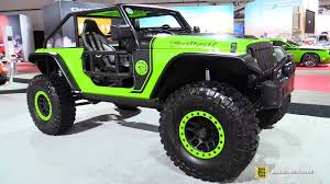 hellcat jeep 2017 jeep wrangler trailcat 707hp hellcat mopar customized