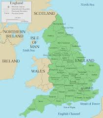 Map Of Wales And England by England Map Travel Map Vacations Travelsfinders Com