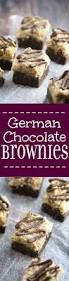 german chocolate brownies the gracious wife