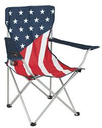 Spin Flag Stars Stripes Flag Chair Patriotic And Comfortable Seating From Kmart