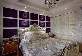 Luxury Bedroom Designs Pictures Purple And White Luxury Bedroom Design Interior Design