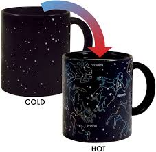 amazon com heat changing constellation mug by the unemployed