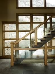 Wood Glass Stairs Design Fabulous Wood Glass Stairs Design About Interior Remodel Ideas