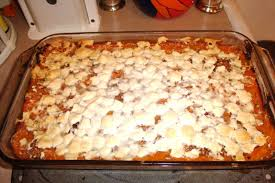 cooking for one sweet potato casserole with marshmallow topping