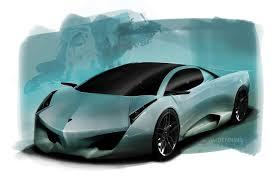 lamborghini cnossus supercar concept version lamborghini navarra concept study penned by lockheed martin designer