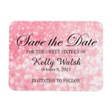 Save The Date Samples Save The Date Refrigerator Magnets Zazzle