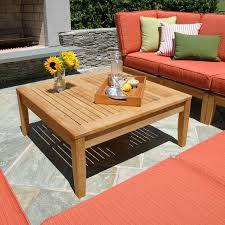 Sectional Table Teak Outdoor Tables Calypso Square Coffee Table Country Casual