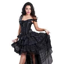 Burlesque Halloween Costumes Vintage Burlesque Queen Corset Dress Halloween Costume N11586