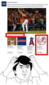 Red Sox Memes - new york yankees similar to boston red sox my brain is full of