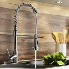 brushed nickel faucets kitchen brushed nickel kitchen faucet moen brantford bathroom faucet