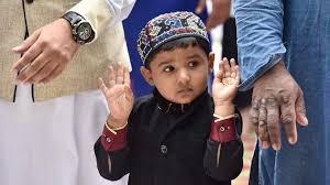 photos eid celebrations across india india news photos