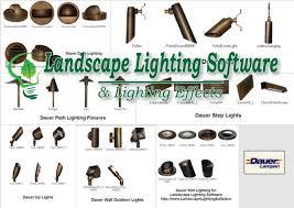 Led Landscape Lighting Fixtures Landscape Lighting Software Includes Dauer Led Light Fixtures Leds
