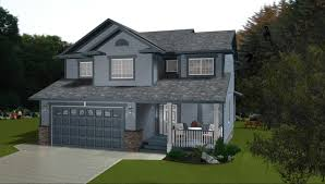 natural affordable design of the 3 storey duplex plans with