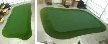 Artificial Backyard Putting Green by Do It Yourself Putting Greens Custom Putting Greens