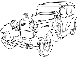 detailed line drawings classic cars google search