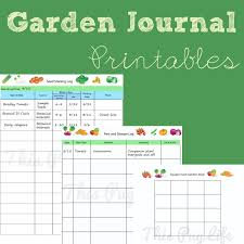 garden journal printables updated journal gardens and garden
