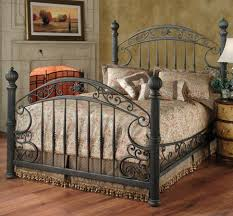 bedroom wrought iron bed frame queen white metal bed frame