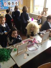 hair dresser s day the hair salon in senior infants ransboro national school sligo