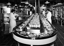 file kastrup airport cph copenhagen flight kitchen 1950s 1960s
