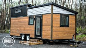 modern high end luxury tiny house on wheels small home design