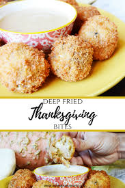 fried thanksgiving bites use thanksgiving leftovers the