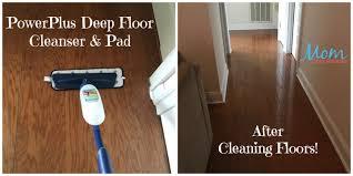 bona powerplus hardwood floor cleaner and microfiber