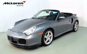 2004 porsche for sale 2004 porsche 911 turbo for sale in norwell ma 676119 mclaren boston