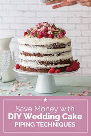 wedding cake diy save money with diy wedding cake piping techniques thegoodstuff