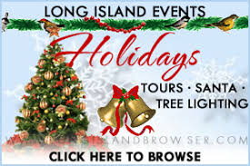 long island winter holiday events guide events christmas trees
