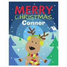 personalized christmas for kids personalized christmas kids placemats current catalog