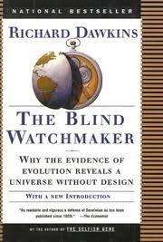Richard Dawkins Blind Watchmaker Publisher Longman Scientific U0026 Technical Open Library