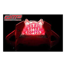 dmp powergrid integrated tail light bmw s1000r s1000rr 2010 2018