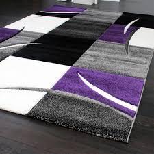 Ikea Teppiche Schlafzimmer Designer Teppich Mit Konturenschnitt Modern Grau Türkis Weiss