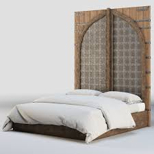 Indian Bed Furniture 3d Model Rh Indian Fortress Bed Cgtrader