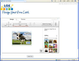 design your own card lge community credit union