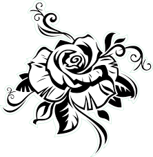 collection of 25 tribal and grey roses tattoos
