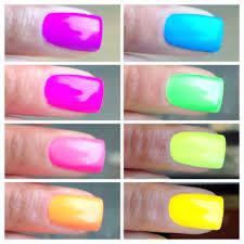 jelly kaleidoscope world 10 piece neon jelly custom nail polish