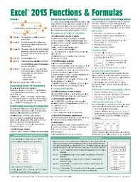 basic terms and terminology for microsoft excel microsoft excel
