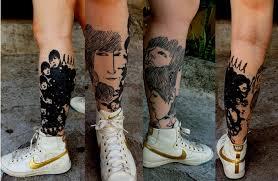 beatlemania the beatles inspired tattoos tattoo com