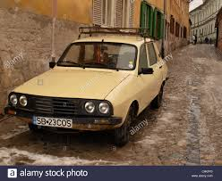 renault europe old dacia car in eastern europe stock photo royalty free image